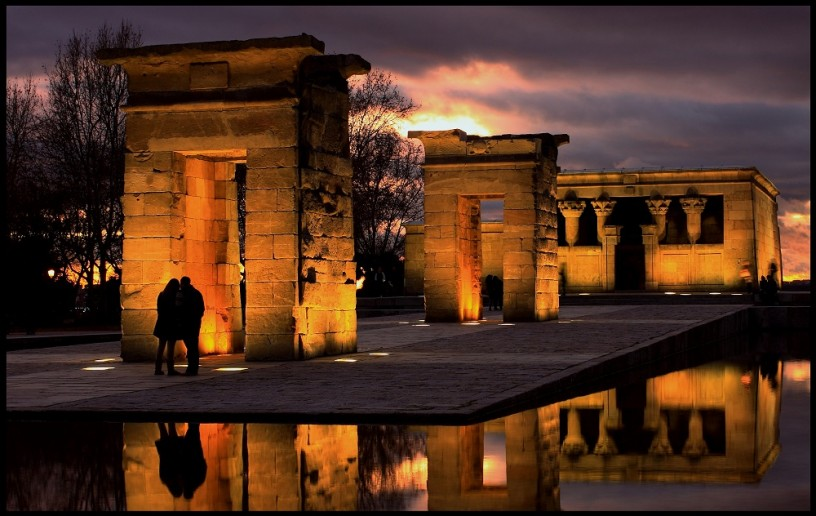 Templo de Debod, mejor atardecer de España