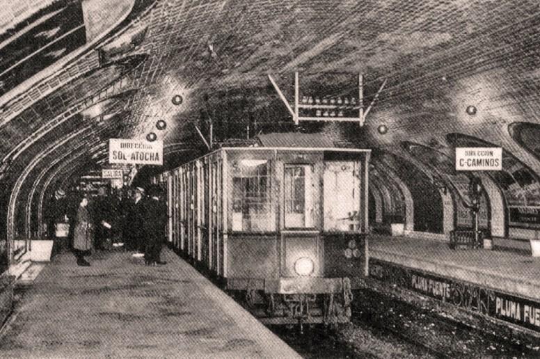 Metro de Madrid, secretos de Madrid