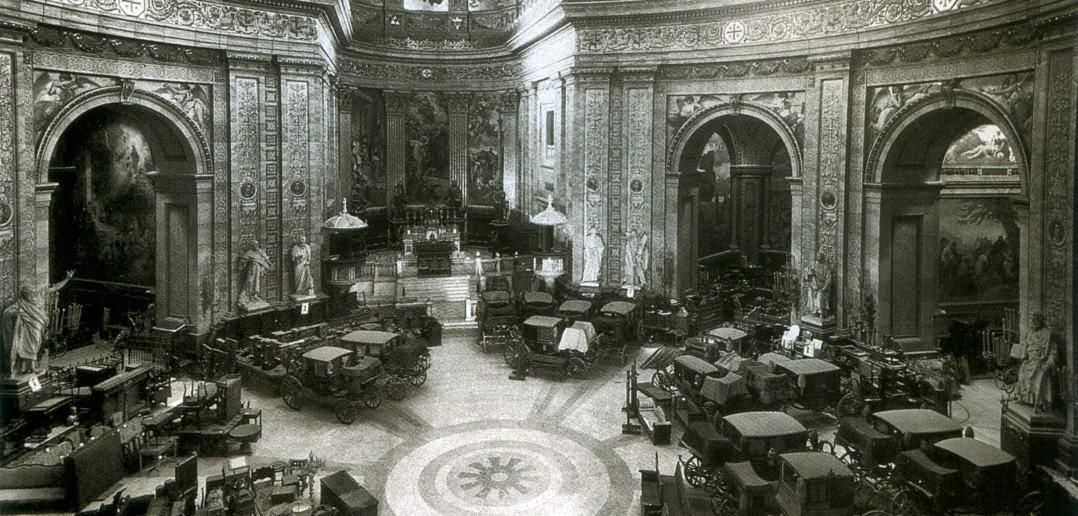 Iglesia de San Francisco el Grande durante la Guerra Civil
