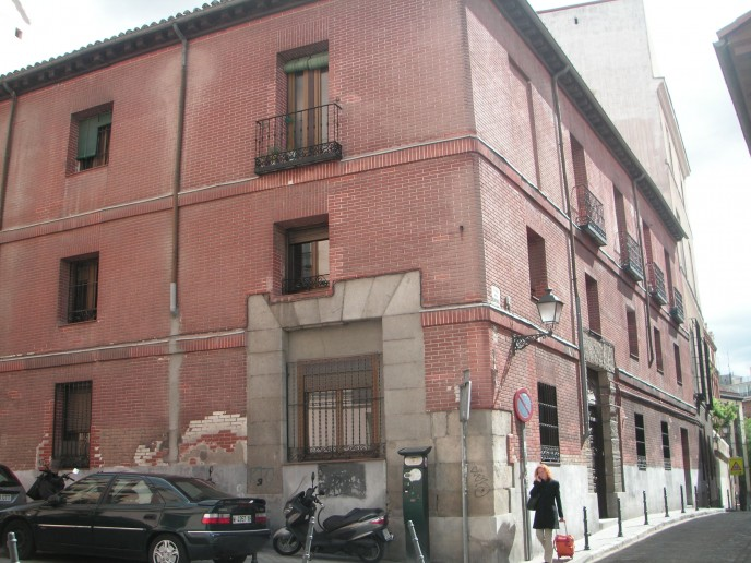 Calle Redondilla, corrala más antigua de Madrid