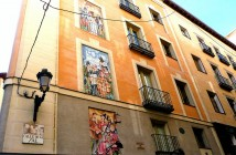 Fortunata y Jacinta, en la Calle de la Sal, Madrid