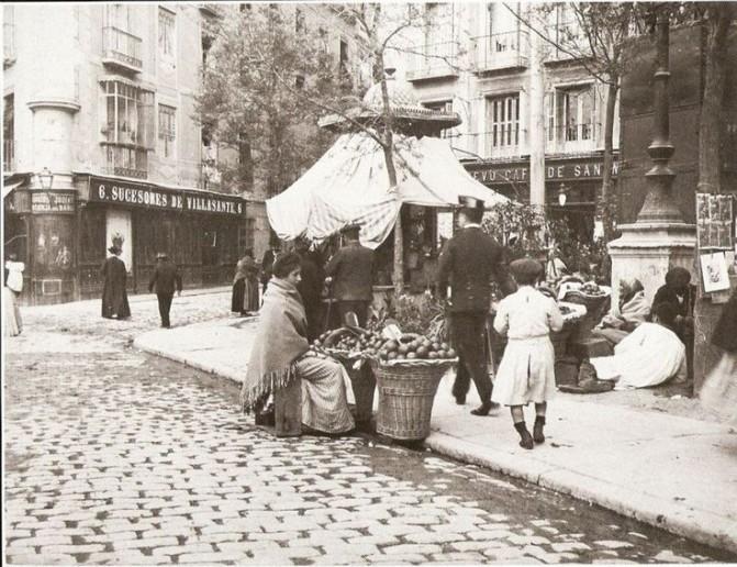 Plaza de San Millán, Madrid. 1897