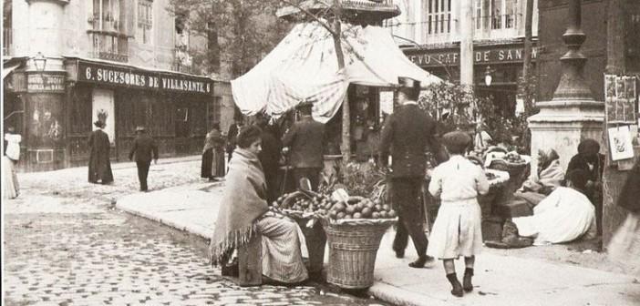 Fotos antiguas: Un Madrid galdosiano (1897)