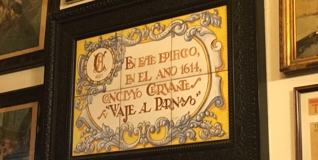 Cervantes, Madrid