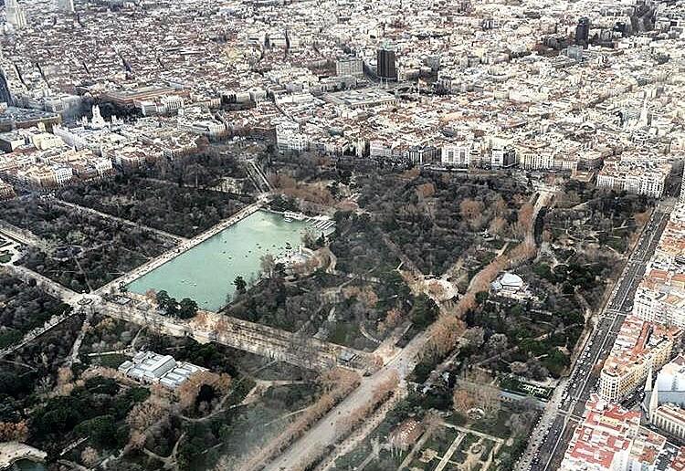 Madrid desde el cielo I