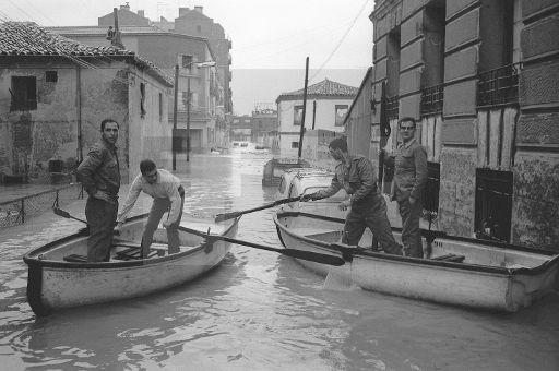 Inundaciones en Madrid