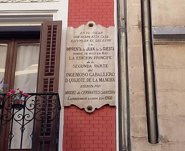Calle San Eugenio, Quijote, Madrid