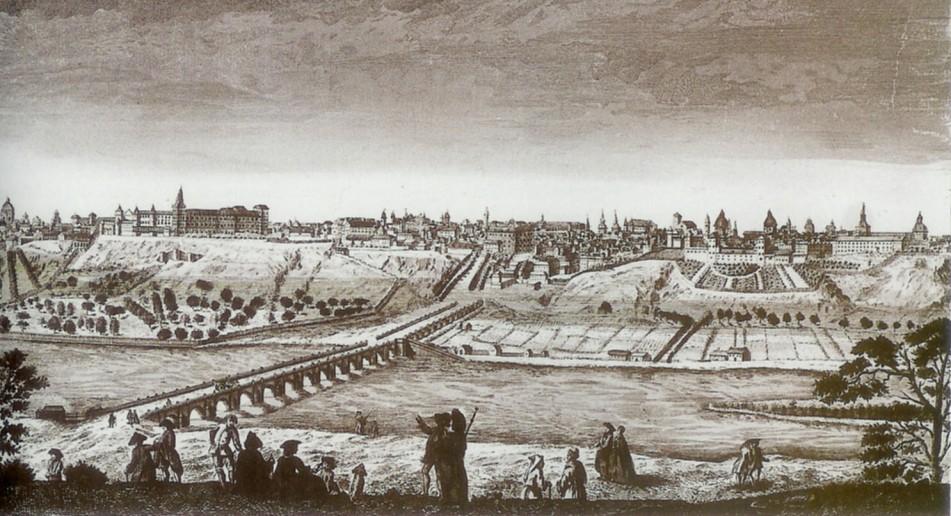 Vista de Madrid desde la Casa de Campo