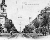 Fotos antiguas: Limpiando la Calle Princesa (1902)