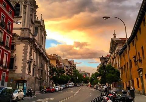 La postal de la semana: ocaso en San Bernardo