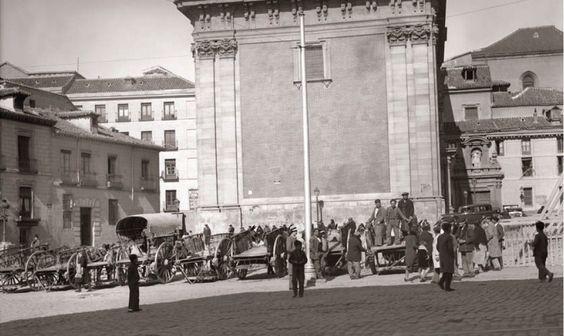 Fotos antiguas: La Plaza de los Carros