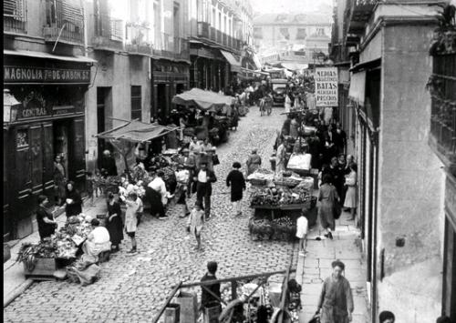 Corredera Baja de San Pablo, Madrid, Malasaña. 1929