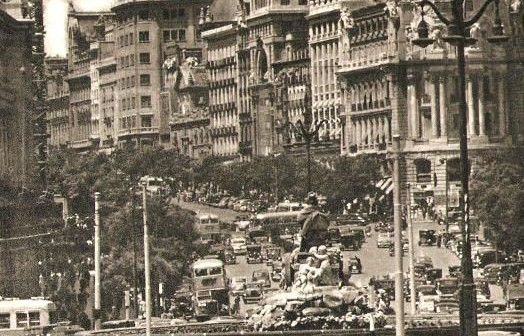 Fotos antiguas: El olimpo de Cibeles, Madrid