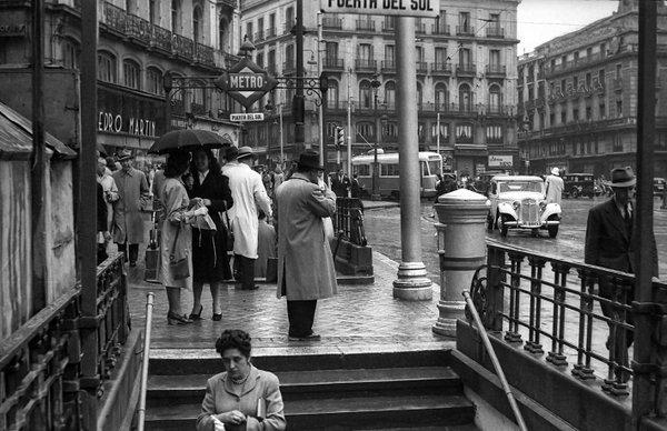 Puerta del Sol, 1948. Madrid