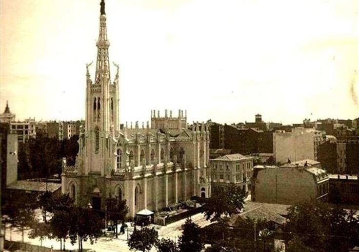 Iglesai de la Concepción, Barrio de Salamanca, Madrid