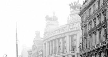 Calle Alcalá de 1930 , Madrid