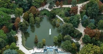 La postal de la semana: El Palacio de Cristal desde el aire