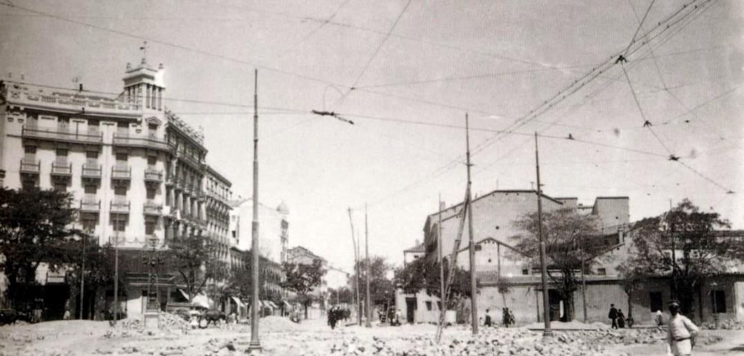 Glorieta de Quevedo, en 1930