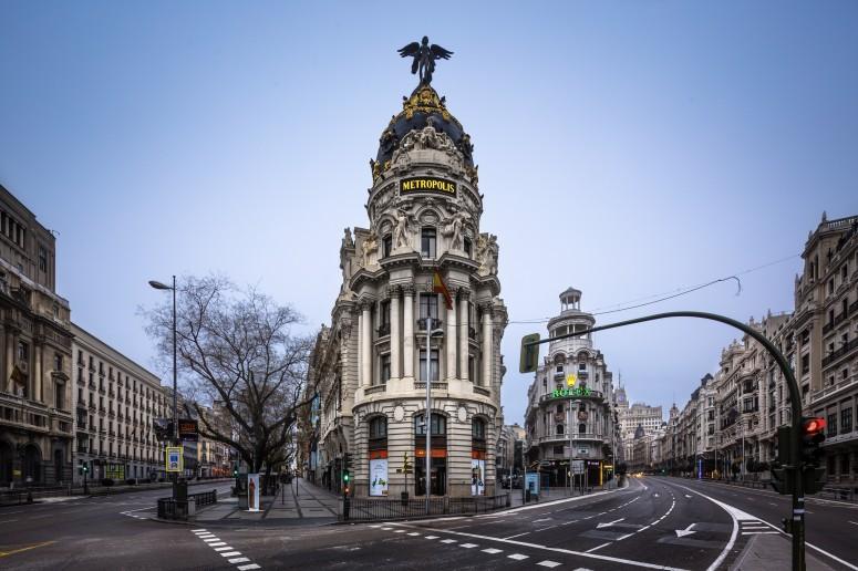 Edificio Metrópolis, Madrid. (Foto @Rubenpb)