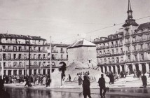 Plaza Mayor de Madrid en la Guerra Civil