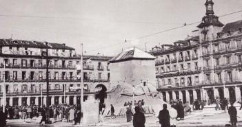 Plaza Mayor de Madrid en la Guerra Civil