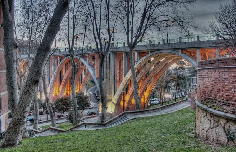 Viaducto Calle Bailén, Madrid