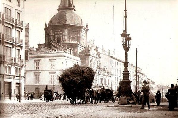 Calle de Alcalá, a finales del Siglo XIX