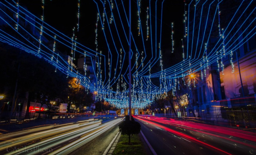 Calle de Alcalá, Navidad, Madrid