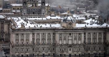 La postal de la semana: Nieve en Madrid