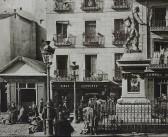 Fotos antiguas de Madrid: Plaza de Cascorro (1906)