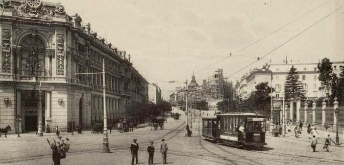 Fotos antiguas de Madrid: La Calle de Alcalá (1910)