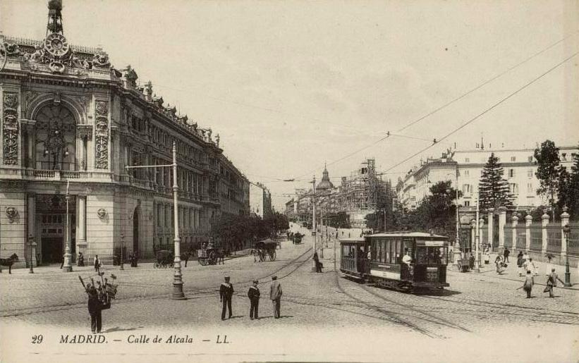Calle de Alcalá, 1910, Madrid