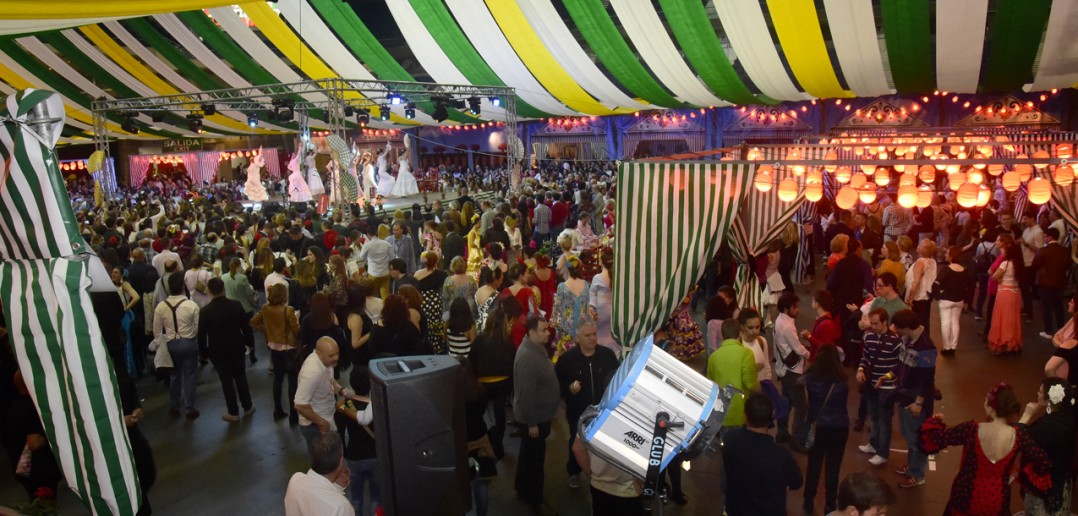 Feria de abril en Madrid