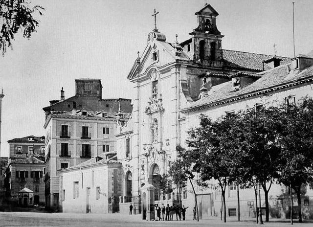 La Casa del Cura junto a la Iglesia de San José
