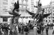 Colosos en la Calle de Alcalá