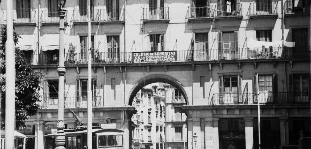 Plaza Mayor de Madrid en 1932