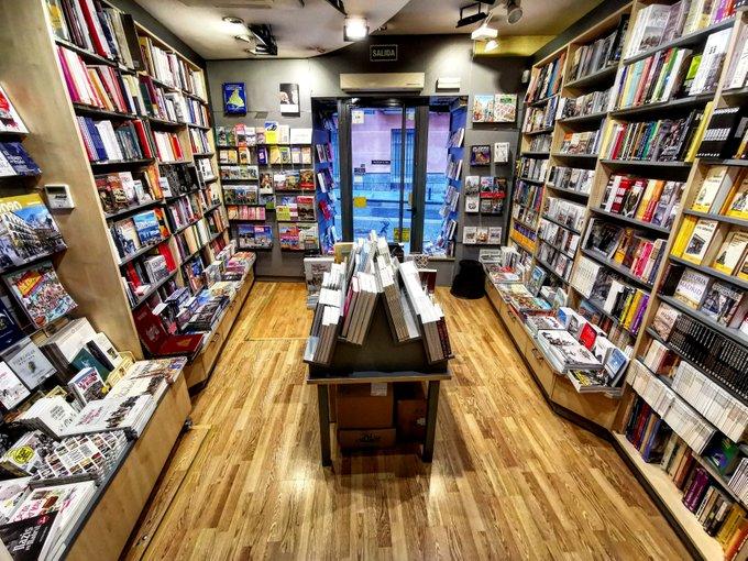 Libreria con encanto en Madrid