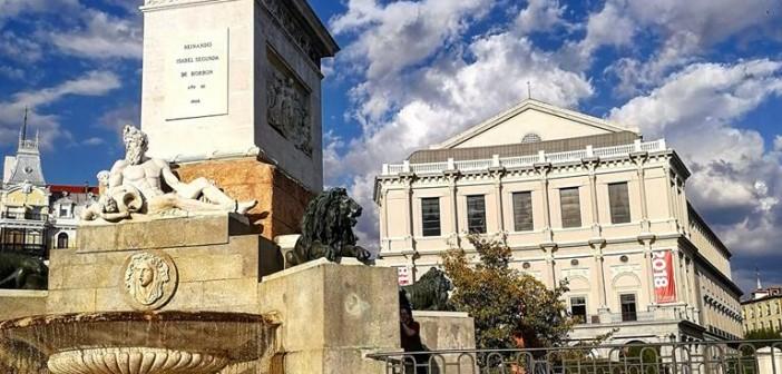 La postal de la semana de Madrid: La Plaza de Oriente