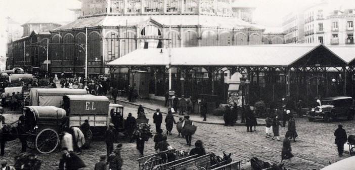 Fotos antiguas de Madrid: El Mercado de la Cebada