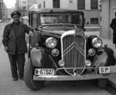 ¿Dónde estuvo la primera parada de taxis de Madrid?