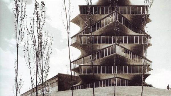 La pagoda que habitó en Madrid