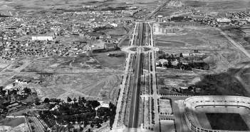 Paseo de la Castellana, antigua