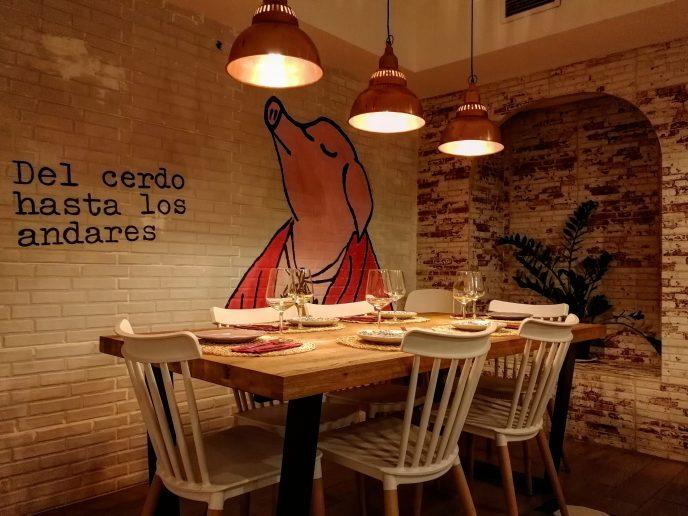 La Porcinería, restaurante dedicado al cerdo en Madrid