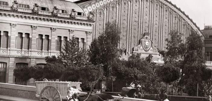 Fotos antiguas de Madrid: Estación de Atocha (1925)