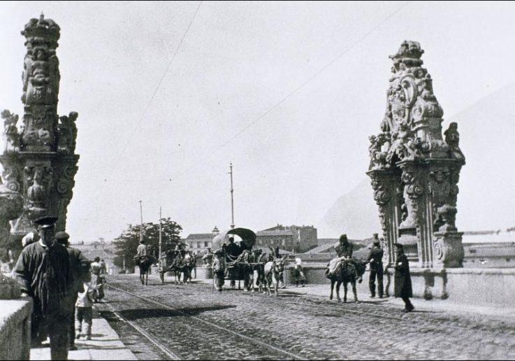 Puente de Toledo, finales del Siglo XIX