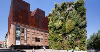 Jardín vertical del CaixaForum