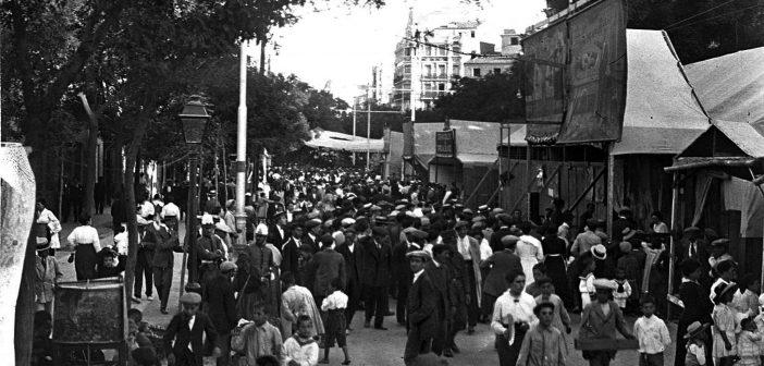 Fotos antiguas de Madrid: Verbena del Carmen, 1920.