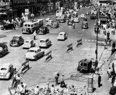 Fotos antiguas de Madrid: Obras en Gran Vía