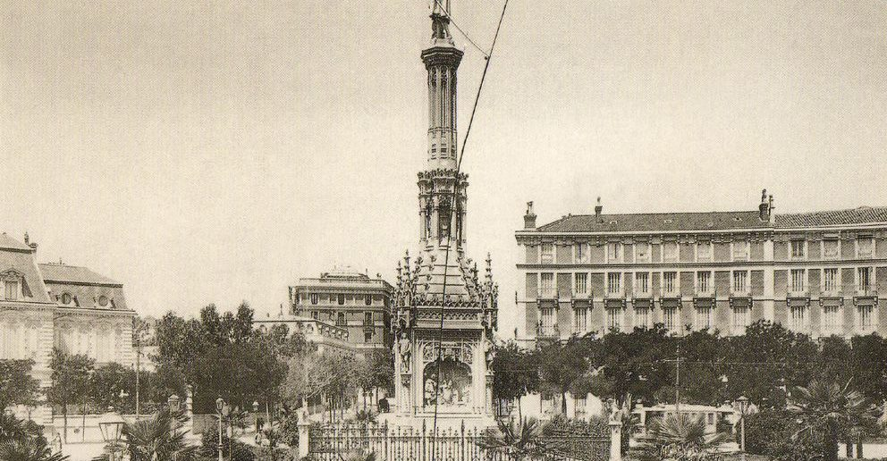 Plaza de Colón, finales del Siglo XIX