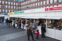 Feria Libros Plaza Mayor de Madrid